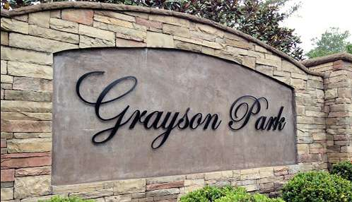 Grayson Park Main Entrance