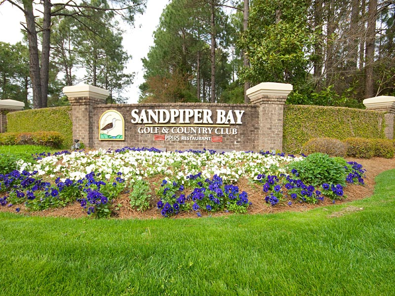 Sandpiper Bay Main Gate