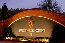 Brunswick Forest Main Entrance