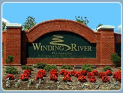 Entrance to Winding River Plantation