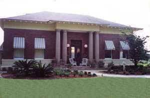 Historical Burton Swatrz Office in Perry, FL --Home of Sheffield & Sheffield Realty