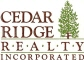 CEDAR RIDGE  REALTY  INC